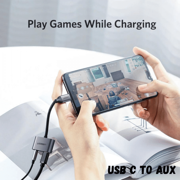 Gaming USB C to AUX